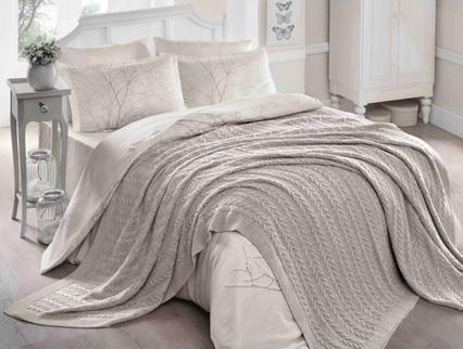 Akrilik örgü battaniye