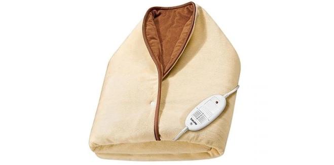 Giyilebilir elektrikli battaniyeler