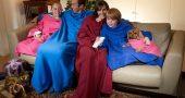 Giyilebilir Battaniyelerle Soğuk Günlerde Üşümeyin