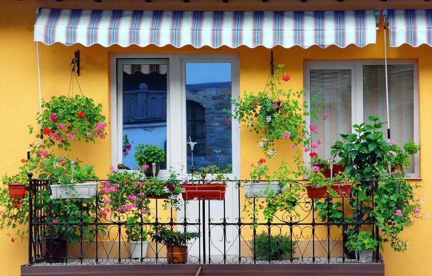 Açık Balkon Dekorasyonu