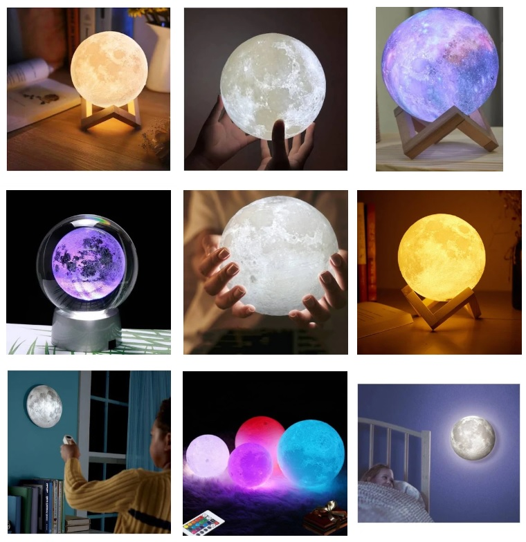 Gece Lambası : Ay Gece Lambası
