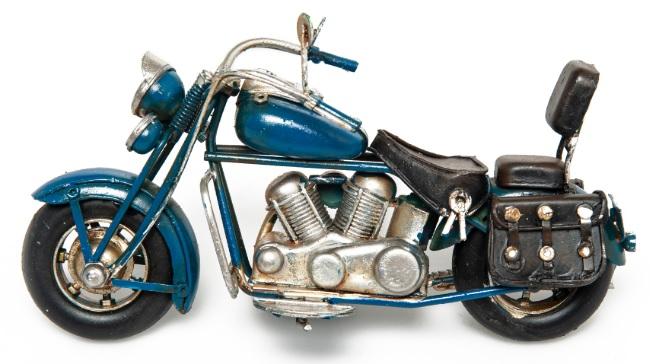 Biblolar : Dekoratif Motosiklet Biblo Modeli