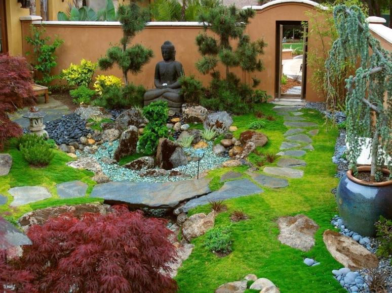 Modern bahçe dekorasyonu örnekleri hayal bahçe