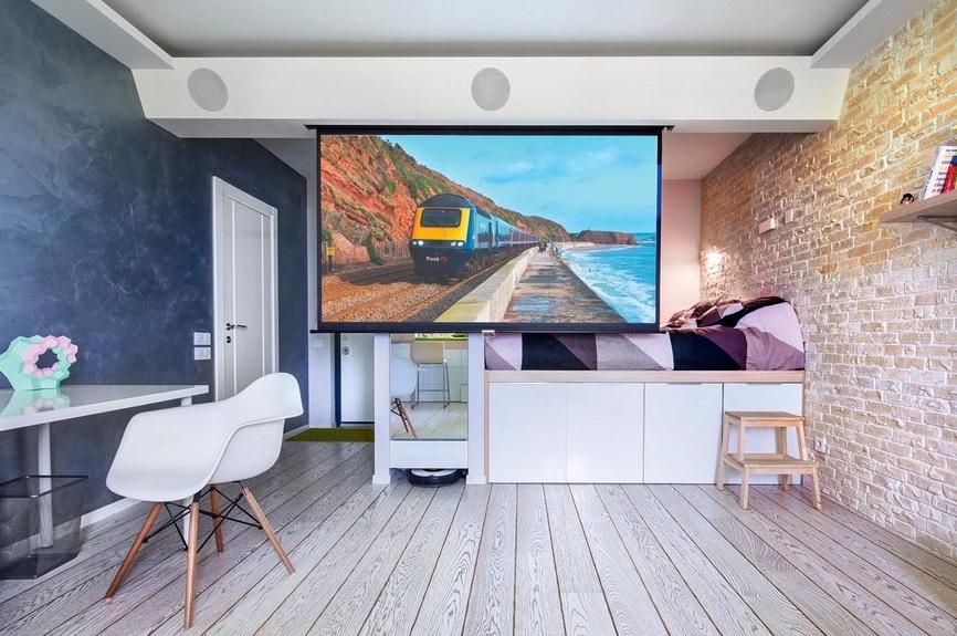 1+1 Ev Dekorasyonu : Yatağı Yukarı Kaldırmak