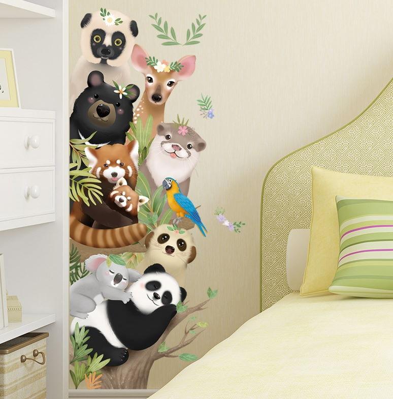 Çocuk Odası Duvar Stickerleri : 3 Üç Boyutlu