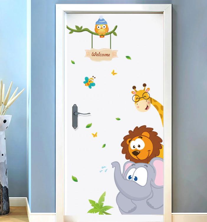 Çocuk Odası Duvar Stickerleri : Kapı Çıkartması