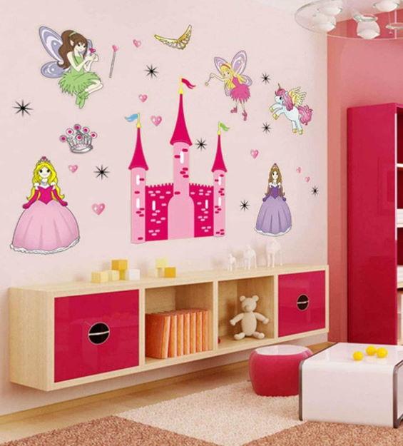 Çocuk Odası Duvar Stickerleri : Kız Çocukları İçin