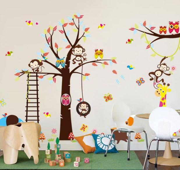 Çocuk Odası Duvar Stickerleri : Tam Boy