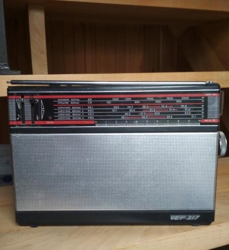 Dekoratif Nostaljik Radyo