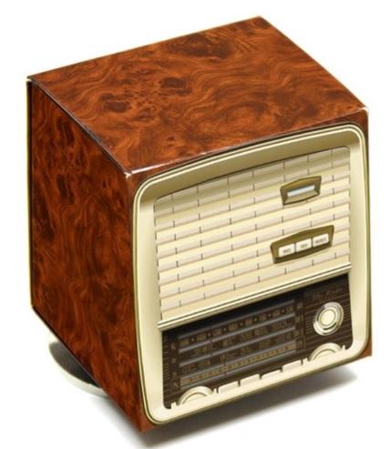 Müzik Kutulu Dekoratif Nostaljik Radyo
