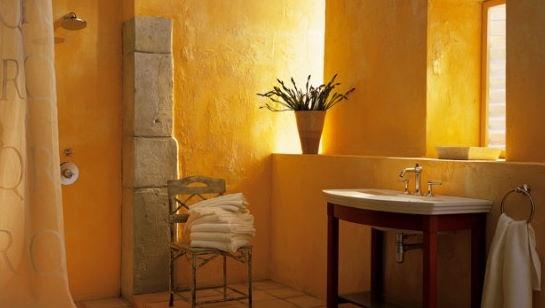 Sarı Banyo Dekorasyonu Modelleri