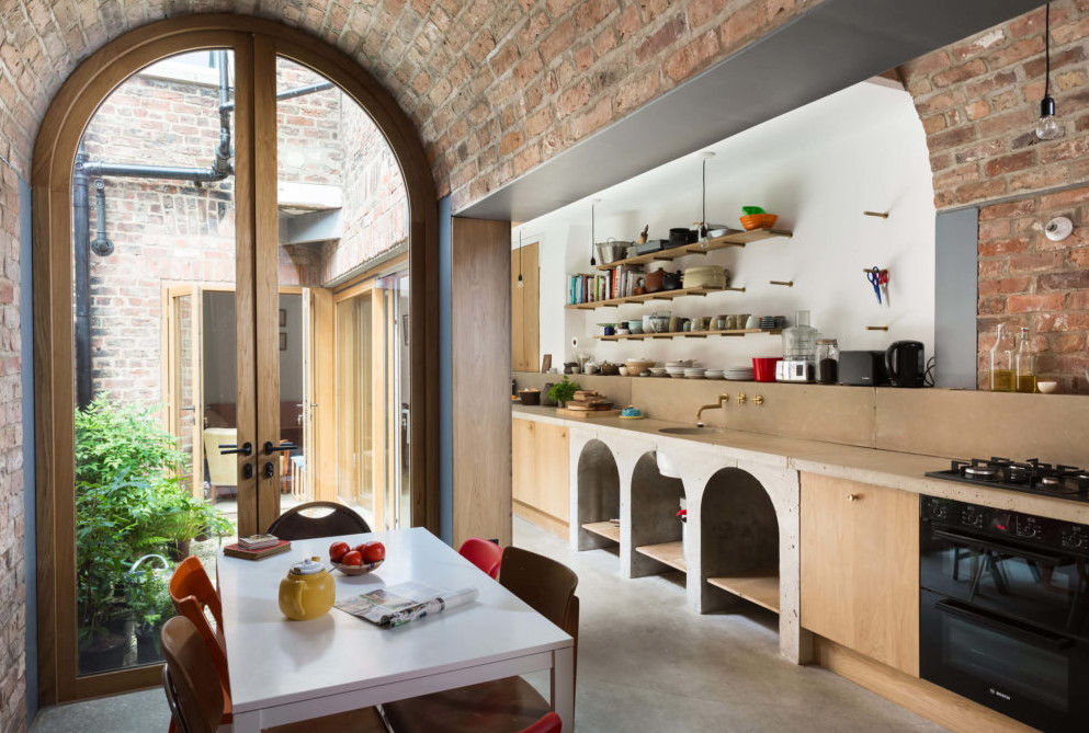 Gallery Styled Kitchen Decoration